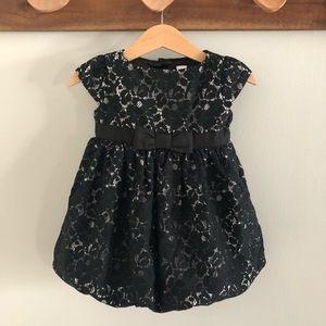 Baby GAP lace bubble dress, 12-18 months.